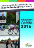 Rapport d'activités de la Communauté de communes du Pays de Fontenay-le-Comte 2016